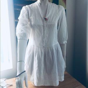 Staring at Stars 100💯cotton Little white dress